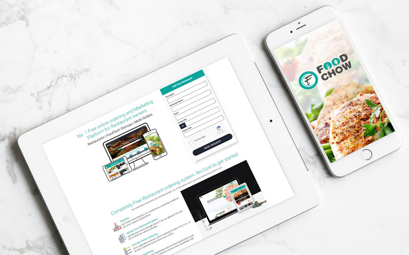 Foodchow:Online Food Ordering System and Mobile Apps for Restaurants