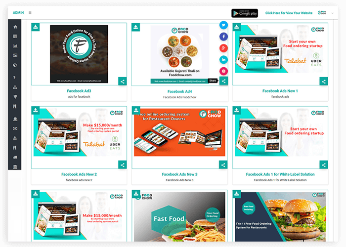 Digital Promotion Restaurant Ordering System